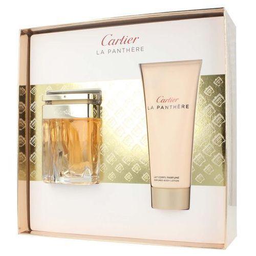 Cartier la panthere zestaw - woda perfumowana 50 ml spray + balsam 100 ml