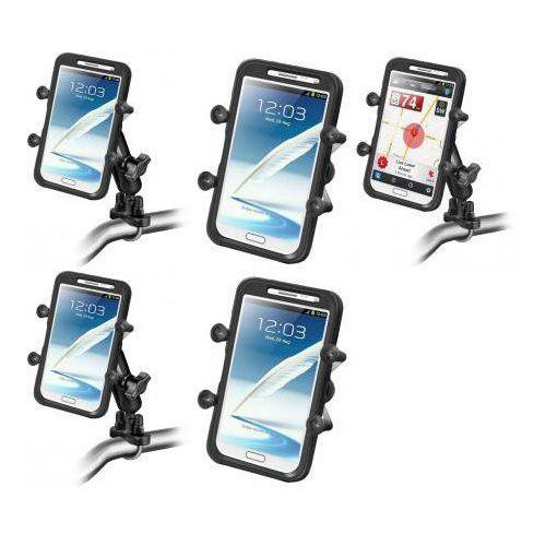 Ram Mounts Uniwersalny uchwyt X-Grip™ IV do dużych smartfonów montowany do ramy kierownicy