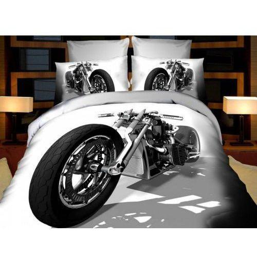 Cotton world Pościel 3d - motocykl harley - 160x200 4 cz.