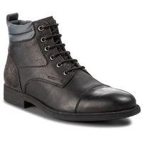 Trzewiki GEOX - U Jaylon I U84Y7I 0EM22 C0005 Black/Dk Grey, kolor czarny