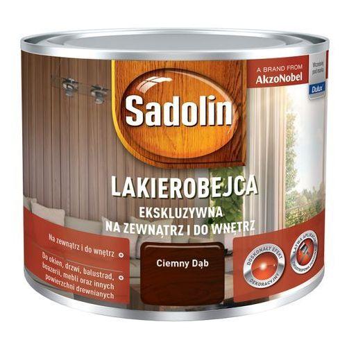 Lakierobejca ekskluzywna dąb ciemny 0,25 l marki Sadolin