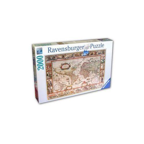 Ravensburger Raven. 2000 el. mapa świata (4005556166336)