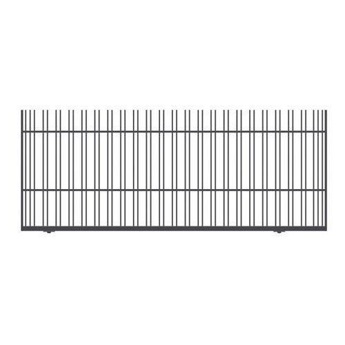 Polbram steel group Brama przesuwna bez przeciwwagi paros 400 x 150 cm prawa (5903641453073)
