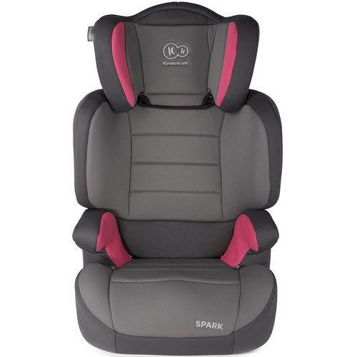 Kinderkraft Fotelik samochodowy  spark up różowy + darmowy transport! (5902533903443)