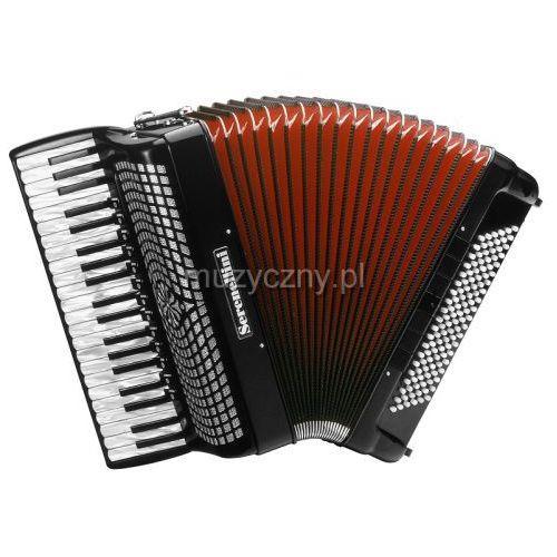 Serenellini 414 K 41/4/13+M 120/5/7 Musette akordeon (czarny)
