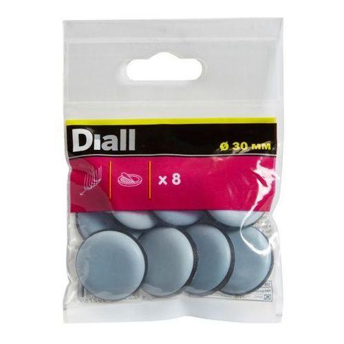 Podkładki samoprzylepne teflonowe 30 mm 8 szt. marki Diall