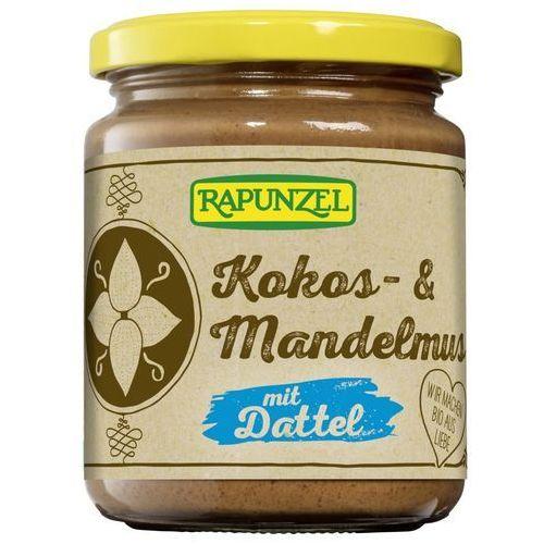 Rapunzel (kremy orzechowe, kostki, ketchupy, inne Krem kokosowo-migdałowy z daktylami bio 250 g - rapunzel