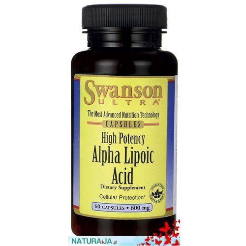 Ala (Kwas alfa liponowy) 600mg 60kaps z kategorii Pozostałe zdrowie