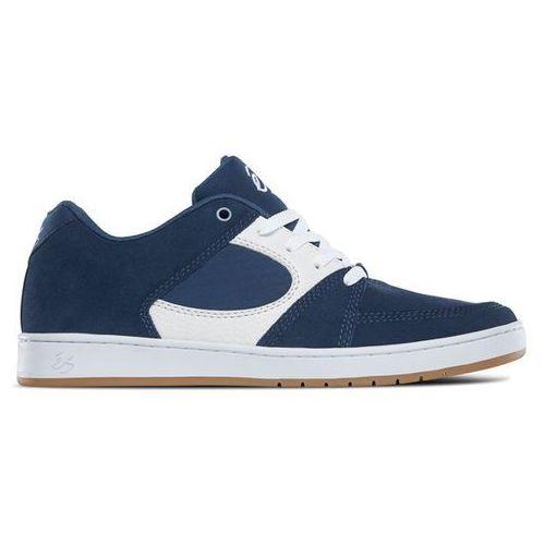 buty ÉS - Accel Slim Blue/White (442) rozmiar: 43, kolor niebieski