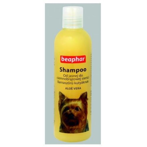 Beaphar szampon aloe vera dla psów o sierści brązowej