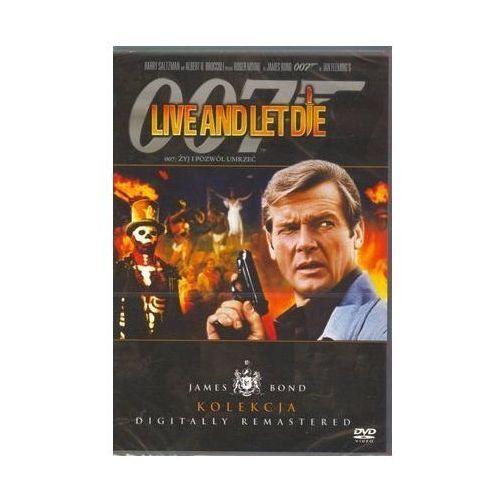 007 James Bond: Żyj i pozwól umrzeć Live and Let Die z kategorii Sensacyjne, kryminalne