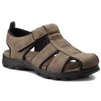 Sandały GINO LANETTI - MS17011-2 Khaki, w 3 rozmiarach