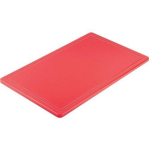 Deska haccp czerwona gn 1/1 marki Stalgast