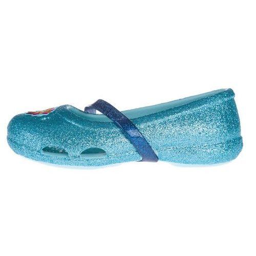 Crocs Crocs Lina Frozen™ Flat Balerinki dla dzieci Niebieski 22-23, kolor niebieski