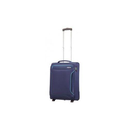 American tourister Holiday heat walizka mała/ kabinowa miękka 2 koła firmy materiał poliester zamek szyfrowy tsa