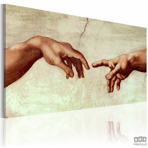 Obraz ręcznie malowany Stworzenie Adama, A0-N2616MK