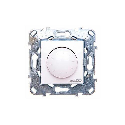 Schneider Unica Plus Ściemniacz obrot-przyc.40÷1000VA - Biel p. MGU5.512.18ZD, MGU5.512.18ZD