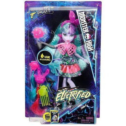 Monster high. zelektryzowane fryzury twyla marki Mattel
