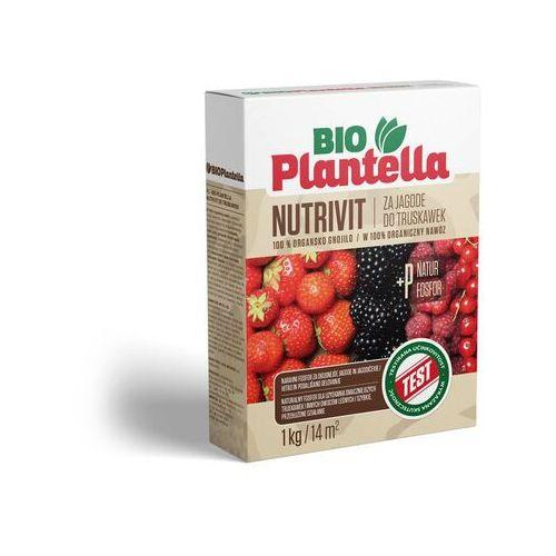 Nawóz do truskawek, malin, jeżyn 1kg. Naturalny nawóz organiczny Bio Plantella.