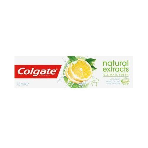 Colgate 75ml ultimate fresh natural extracts pasta do zębów z azjatyckim olejkiem cytrynowym