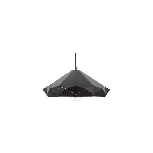 Lampa wisząca metalowa czarna NEVOLA, kolor Czarny