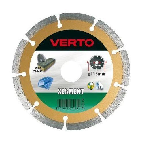 Tarcza do cięcia VERTO 61H3S9 230 x 22.2 mm diamentowa segmentowa