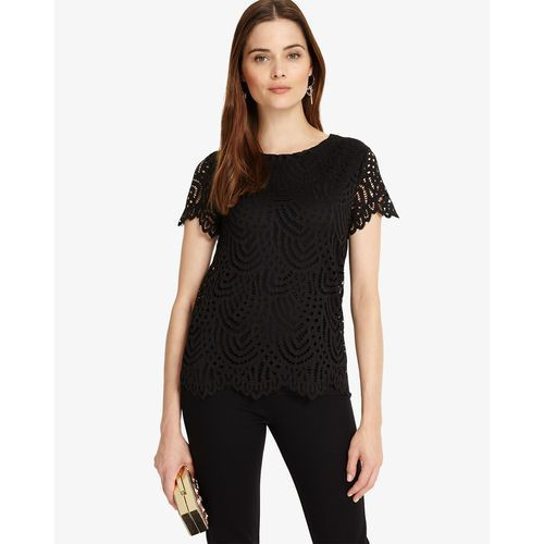 Phase Eight Tessa Lace Top, elastan