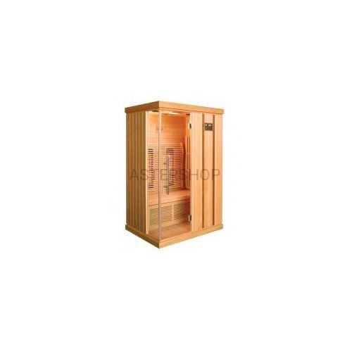 TRENDY Sauna na podczerwień 2 osobowa 123x103x190 cm H30380