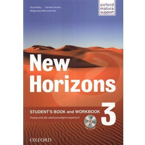 New Horizons 3 podręcznik with CD-ROM - Radley Paul, Simons Daniela, Wieruszewska Małgorzata (2011)