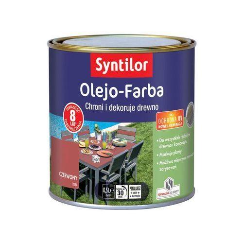Olej zabezpieczający olejo-farba do mebli ogrodowych z drewna i kompozytu marki Syntilor