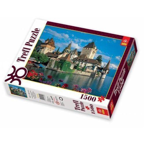 Trefl , zamek oberhofen, szwajcaria, puzzle, 1500 elementów