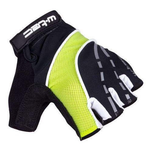 Rękawice rowerowe W-TEC Baujean AMC-1036-17, Czarno-żółty, XXL (8596084063571)
