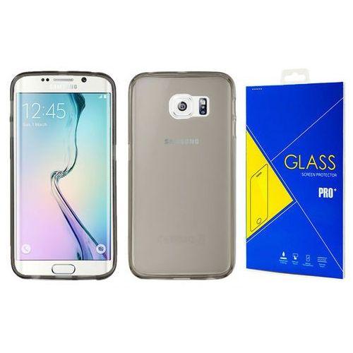 Etui silikonowe slim Samsung Galaxy S6 Edge+ Plus +szkło