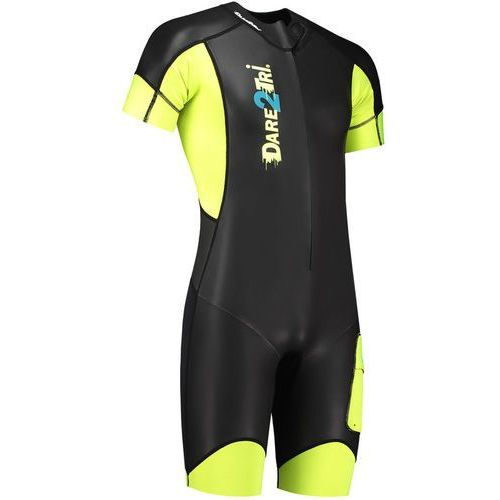 Dare2tri swim&run go mężczyźni żółty/czarny xxl 2018 pianki do swimrun
