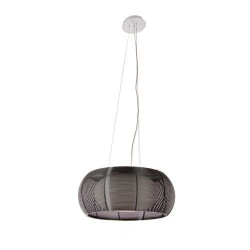 ZUMALINE TANGO LAMPA WISZĄCA 2* E27 MAX 60 W BLACK METAL WIRE SHADE, OPAL GLASS INSIDE MD1104-2L (BLACK), kolor Czarny