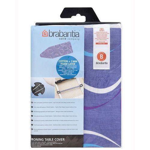 Brabantia - pokrowiec na deskę do prasowania 124 x 38cm - pianka 2mm - moving circles
