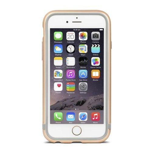 Moshi iglaze luxe - aluminiowy bumper iphone 6s / iphone 6 (satin gold)