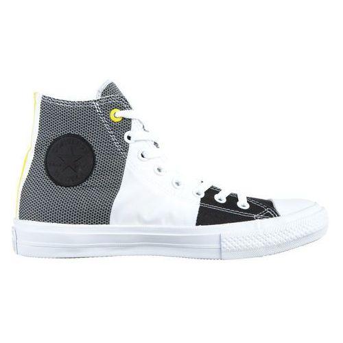 Converse CHUCK TAYLOR ALL STAR Tenisówki i Trampki wysokie white/black/fresh yellow