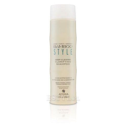 bamboo style deep cleanse szampon głęboko oczyszczający włosy 250ml od producenta Alterna