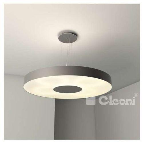 Cleoni Lampa wisząca ferro 1136w6+kolor okrągła oprawa zwis (1000000415667)