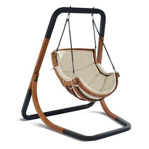 krzesło wiszące trapezoid, beżowy marki Igotherm