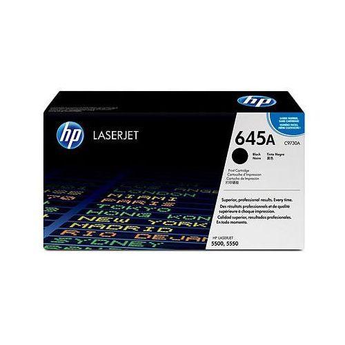 Toner oryginalny 645a czarny do hp color laserjet 5500 n - darmowa dostawa w 24h marki Hewlett packard