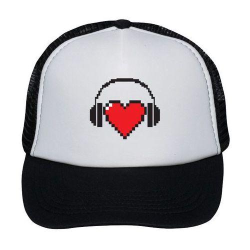 Czapka Heart with headphones, 6159