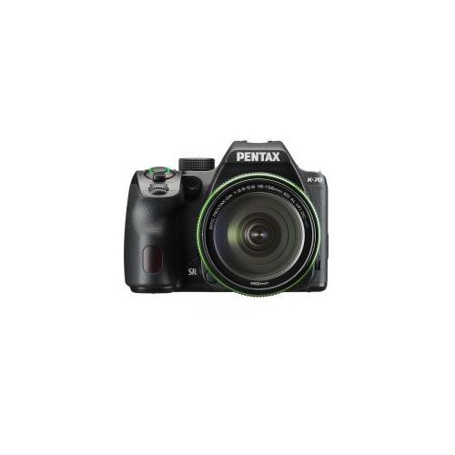 k-70+ 18-135mm da wr + 50mm f1.8 smc marki Pentax