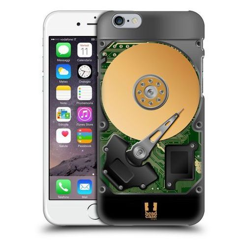 Head case Etui plastikowe na telefon - hard disk drives green