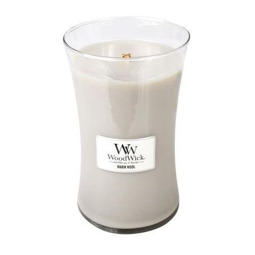WoodWick- Świeca Duża Warm Wool 175h (0663595930529)