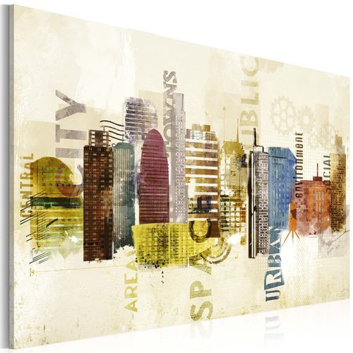Obraz - urban design marki Artgeist