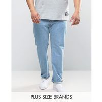 plus 501 original straight fit jean light broken in wash - blue, Levis