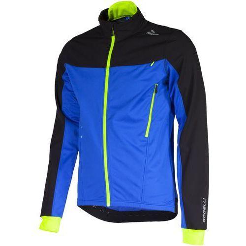 trabia - męska kurtka rowerowa (czarno-niebieski) marki Rogelli