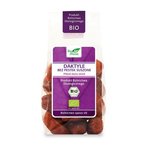 Bio planet : daktyle bez pestek bio - 150 g (5907814660503)